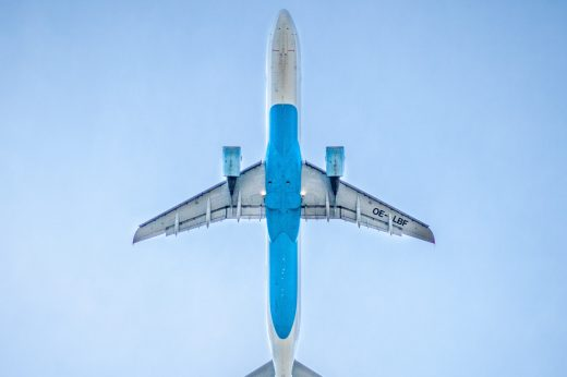 Luftfrachtsendung