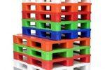 Kunststoffpaletten Industrie und Lebensmittellogistik con Cargo Plast - nachhaltig und stark!