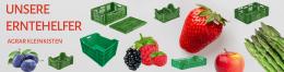 agrar Kleinkisten von cargoplast - ihr neuer erntehelfer