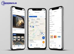 Transportlogistik Trucker road service app von truckerdata.io